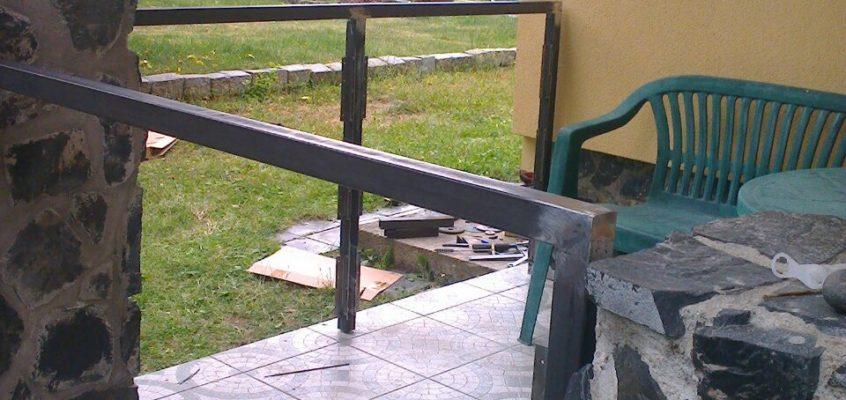 Výroba ocelového zábradlí