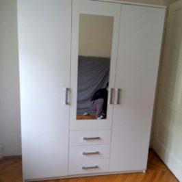Montáž šatní skříně, malování předsíně