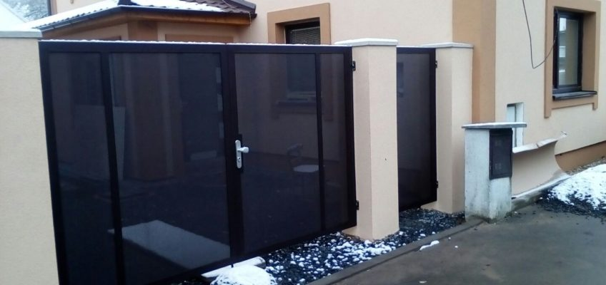 Kovovýroba a instalace brány