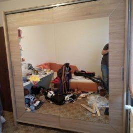 Oprava a montáž staré šatní skříně