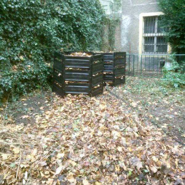 Hrabání, úklid listí