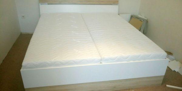 Montáž manželské postele