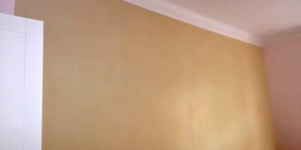 Odstranění malby, tapetování
