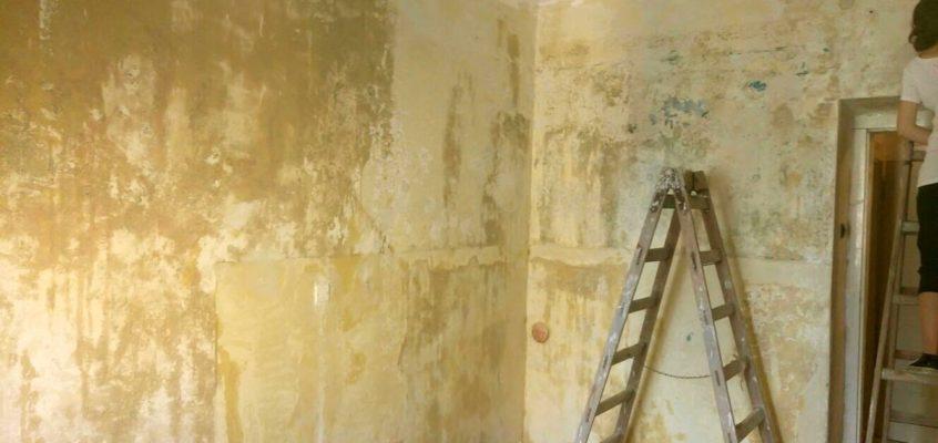Odstranění staré malby