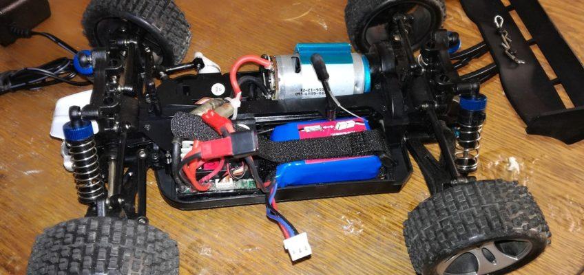 Oprava RC auta