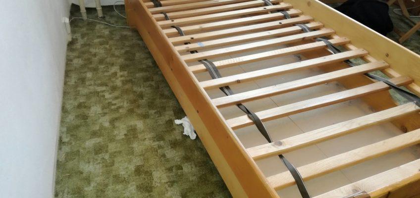 Oprava konstrukce postele