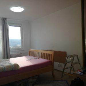 Tapetování ložnice