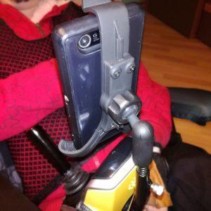 Výroba držáku na invalidní vozík