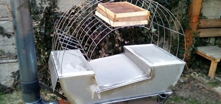 Výroba mobilního voskovaru