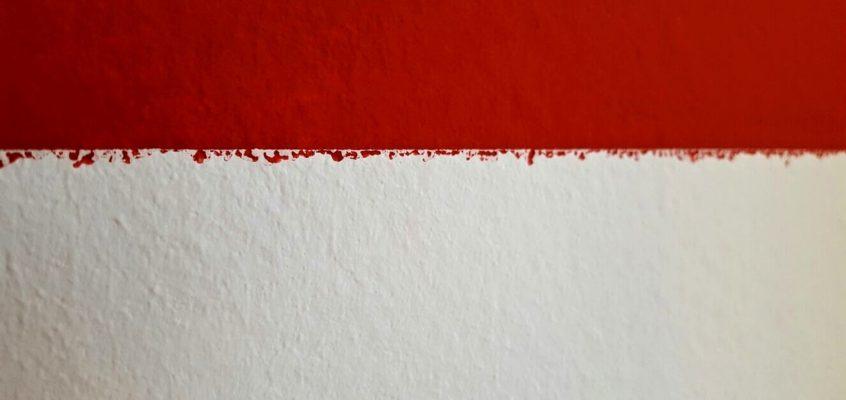 Zarovnání malby, linky