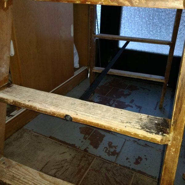 Oprava dřevěných štaflí
