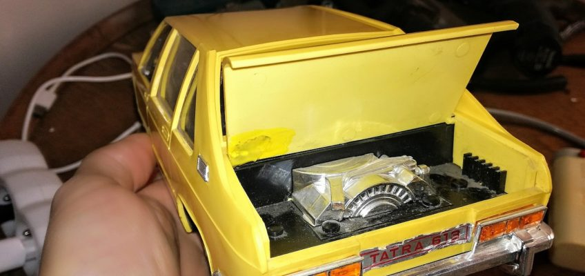 Oprava modelu Tatra 613