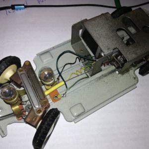 Oprava modelu sanitního vozu
