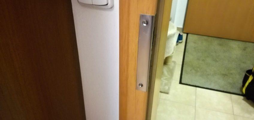Oprava zámku dveří