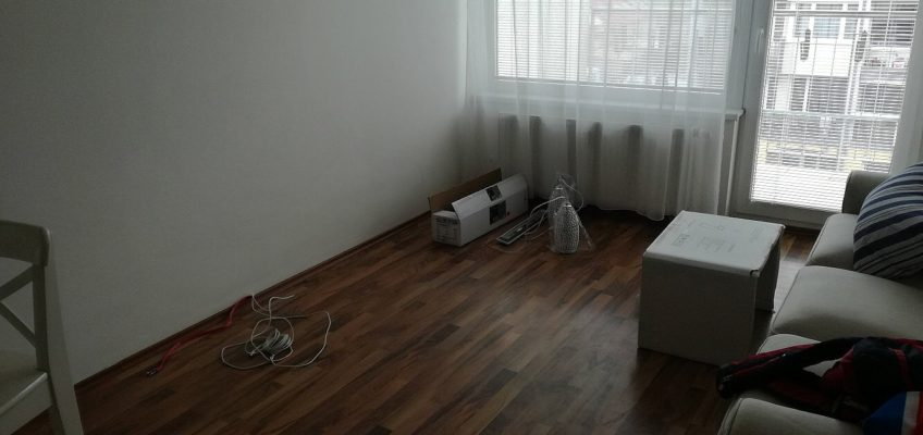 Práce v bytě
