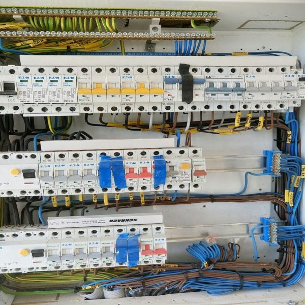 Rekonstrukce elektrických rozvodů