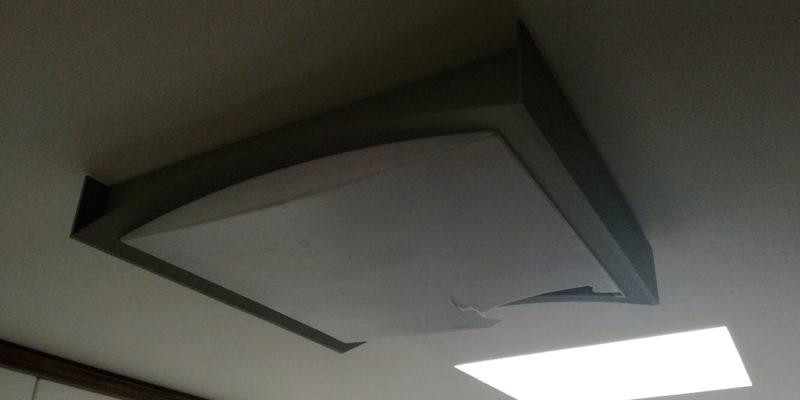 Montáž stropního světla