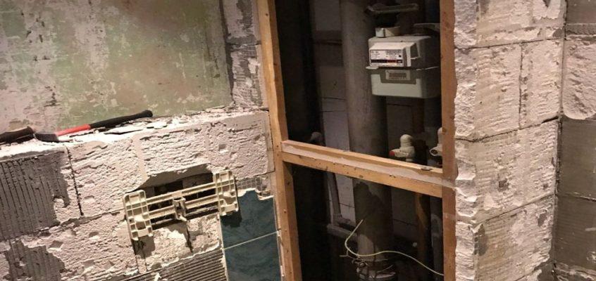 Rekonstrukce v bytě