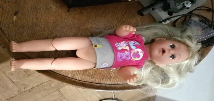 Oprava panenky Baby Born