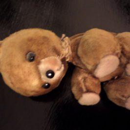 Oprava plyšového medvídka