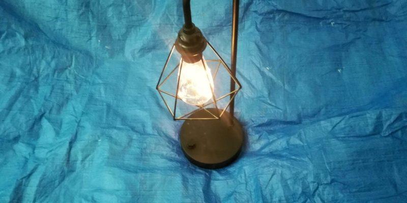 Oprava stolní lampy