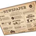 Tapetování novinovým papírem 2