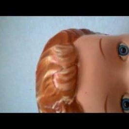 Oprava panenky, praskliny