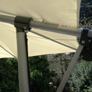 Oprava velkého slunečníku